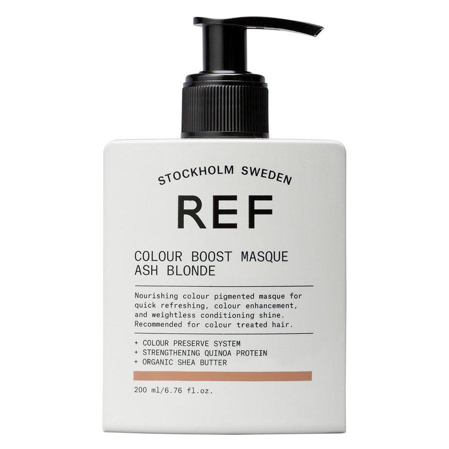 REF Colour Boost Masque Ash Blonde 200ml
