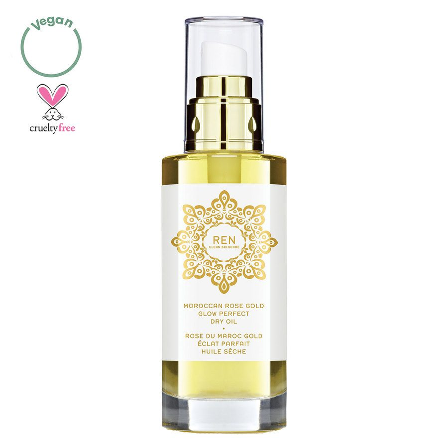 REN Clean Skincare Moroccan Rose Gold Glow Perfect Dry Oil 100ml