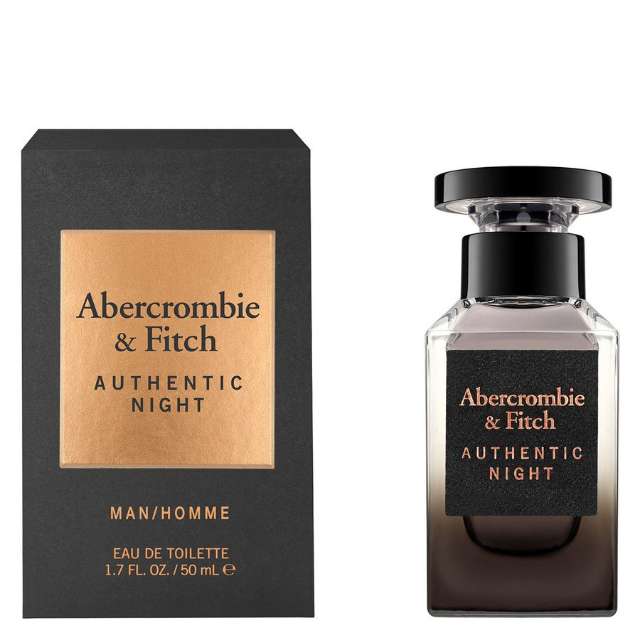 Abercrombie & Fitch Authentic Night Eau De Toilette 50ml