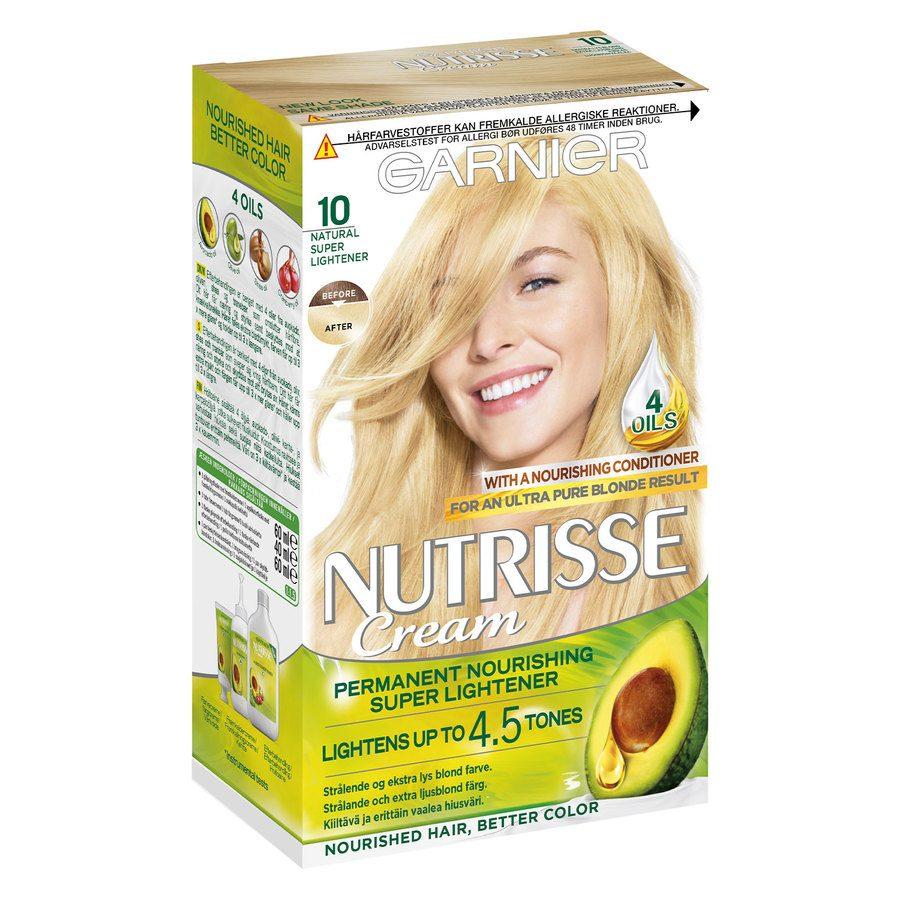 Garnier Nutrisse Cream 10 Ekstra Lys Blond