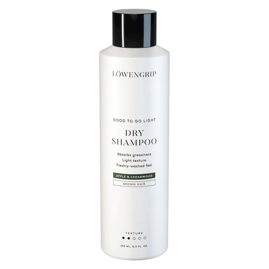 Löwengrip Good To Go Light Dry Shampoo For Brown Hair Apple & Cedarwood 250ml