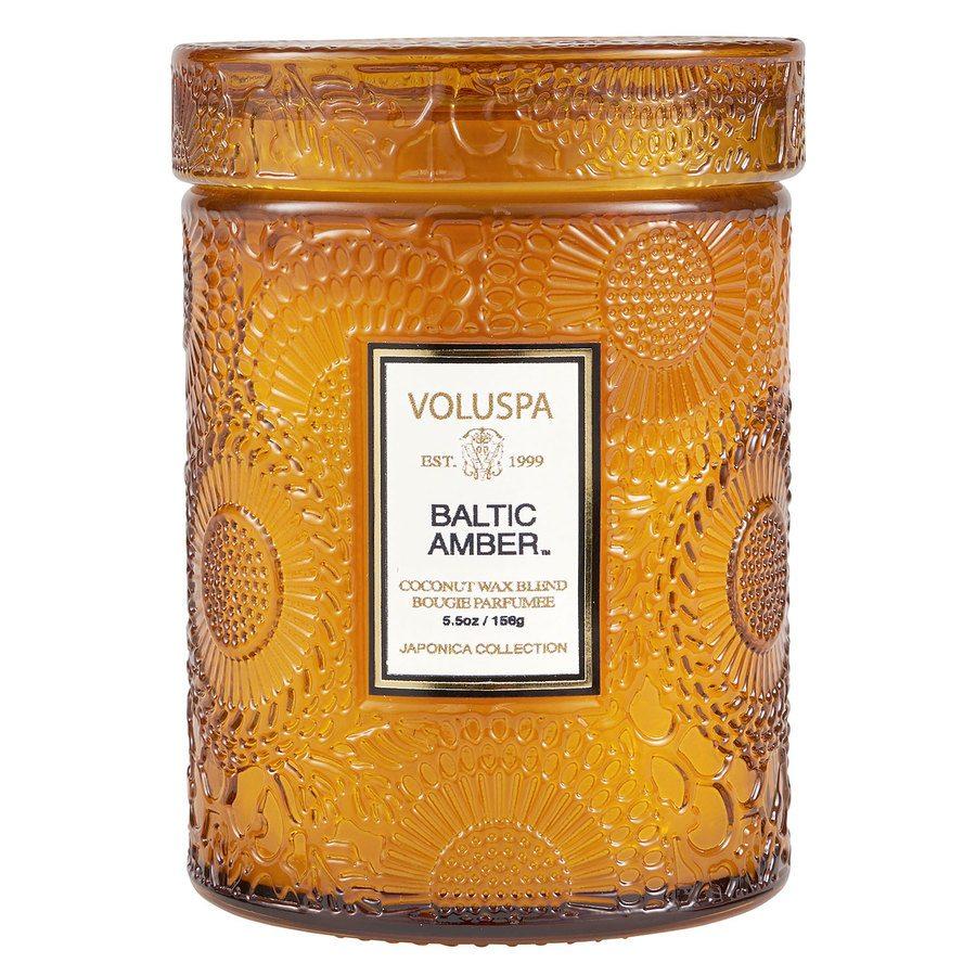 Voluspa Mini Glass Jar Baltic Amber 156g