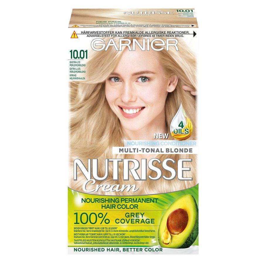 Garnier Nutrisse Cream 10,01 Ekstra Lys Perlemorblond