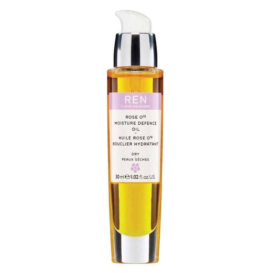 REN Clean Skincare Rose O12 Moisture Defence Serum Oil 30ml