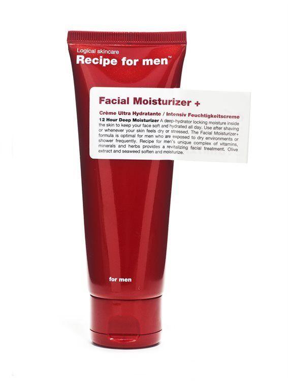 Recipe For Men Facial Moisturizer+ 75ml