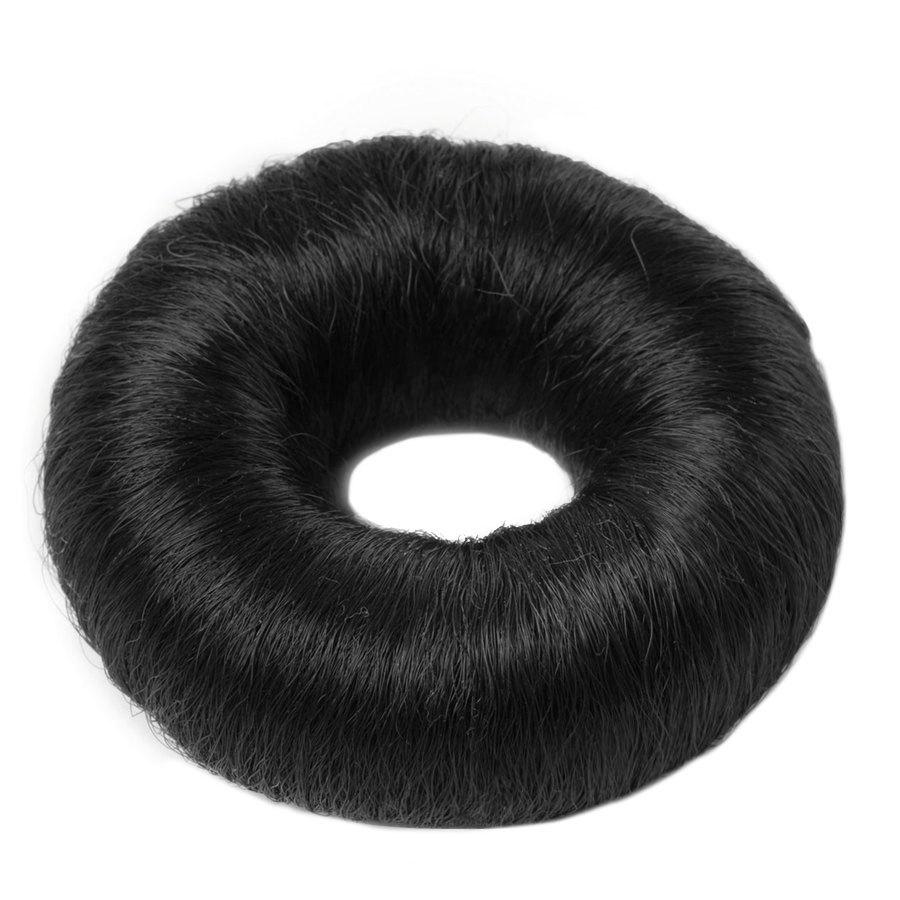 Hair Accessories Synthetic Hair Bun Large Black 1pcs