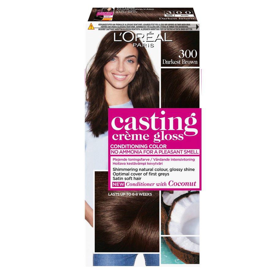 L'Oréal Paris Casting Creme Gloss 300 Mørk brun