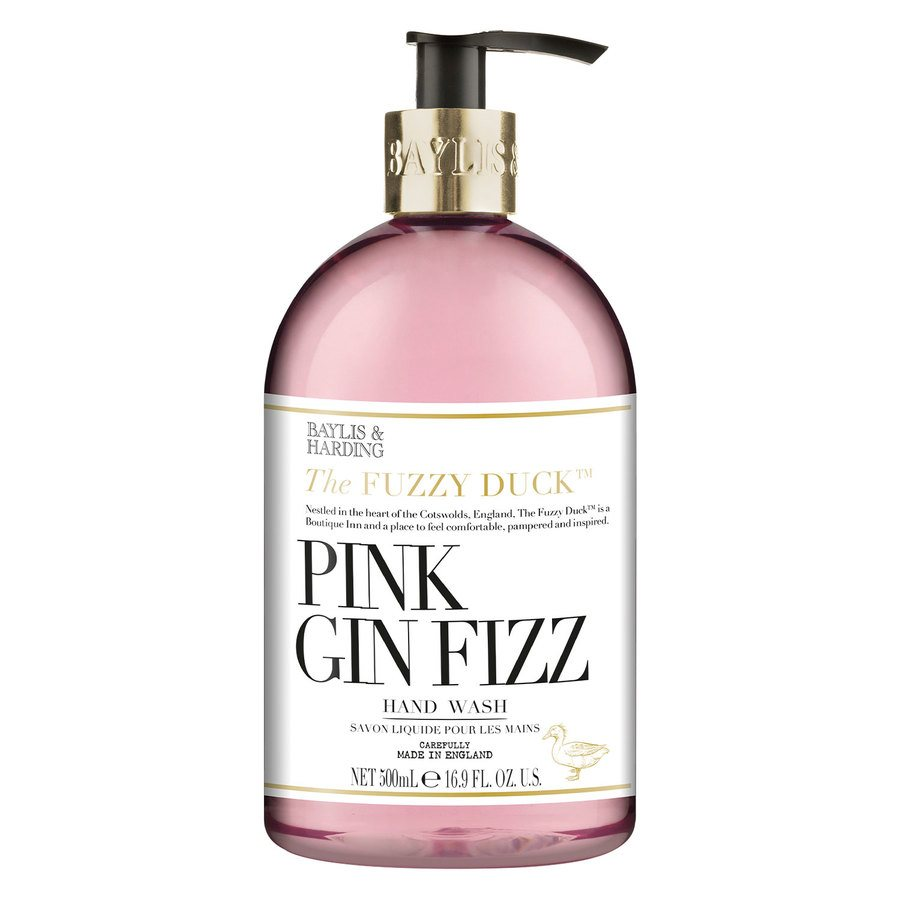 Baylis & Harding Cocktails Pink Gin Fizz Hand Wash 500ml