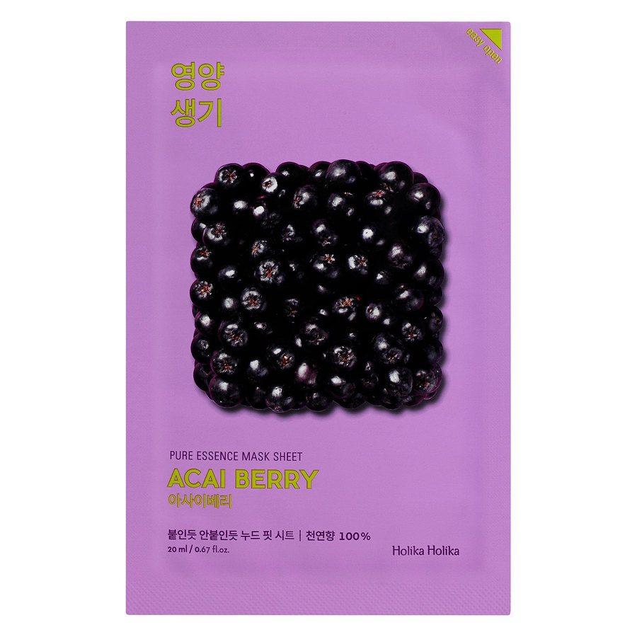 Holika Holika Pure Essence Mask Sheet Acai Berry 23ml