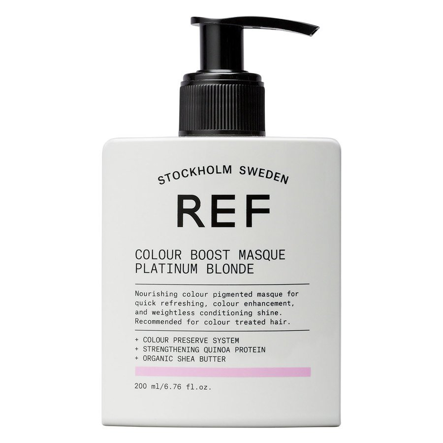 REF Colour Boost Masque Platinum Blonde 200ml