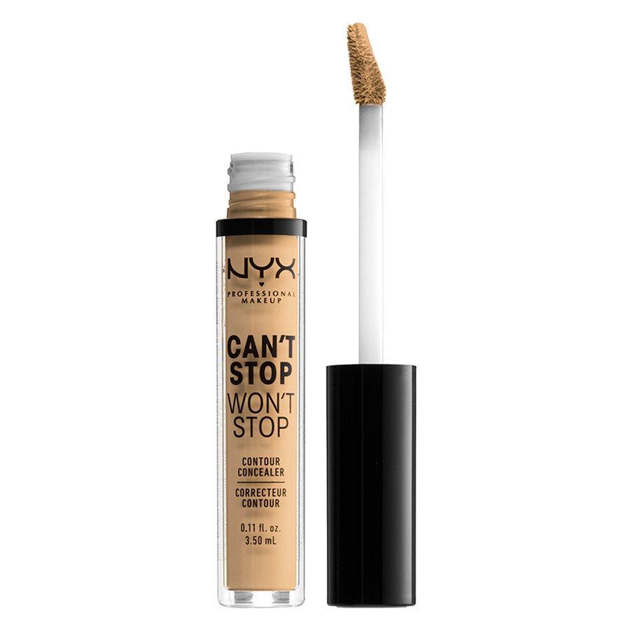 NYX Professional Makeup Can't Stop Won't Stop Contour Concealer True Beige 3,5ml