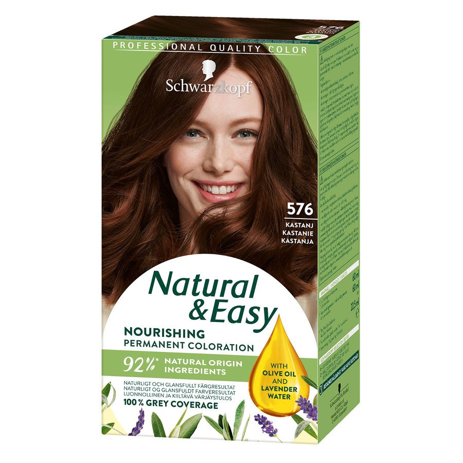 Schwarzkopf Natural & Easy 576 Chestnut Redbrown