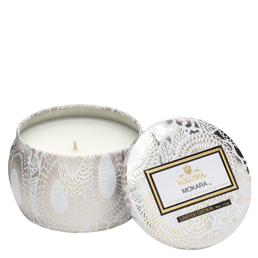 Voluspa Decorative Tin Candle Mokara 113g