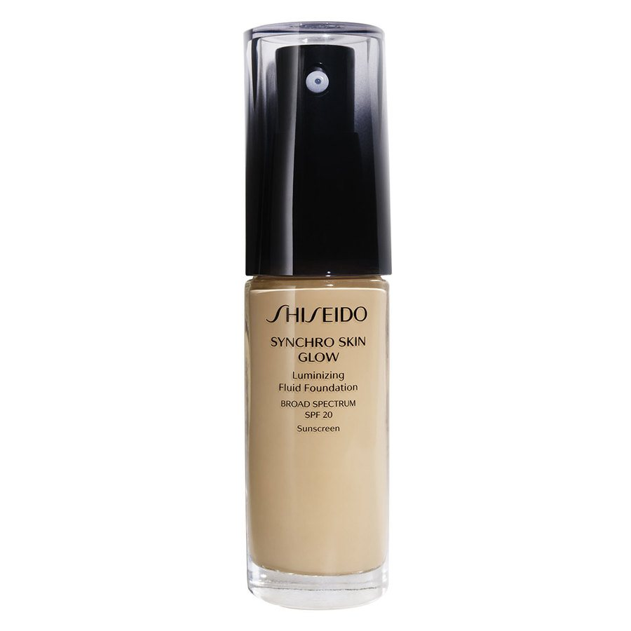 Shiseido Synchro Skin Glow Luminizing Foundation Golden #4 30ml