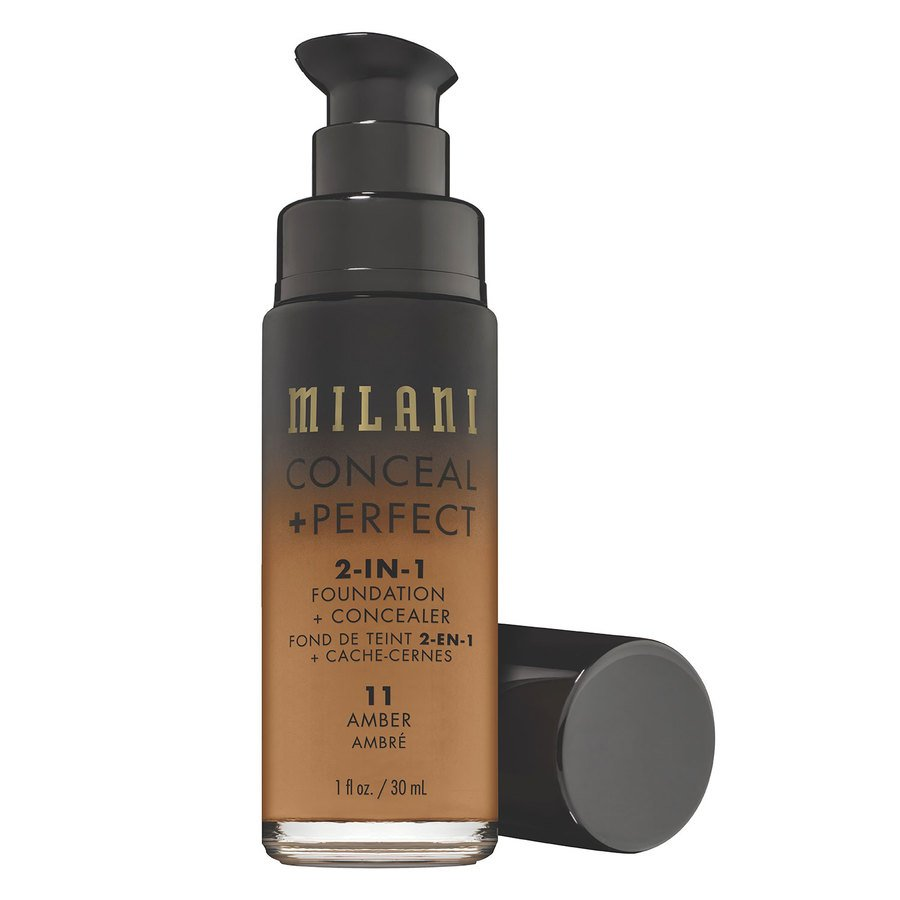 Milani Cosmetics Conceal & Perfect 2 In 1 Foundation + Concealer Amber 30ml
