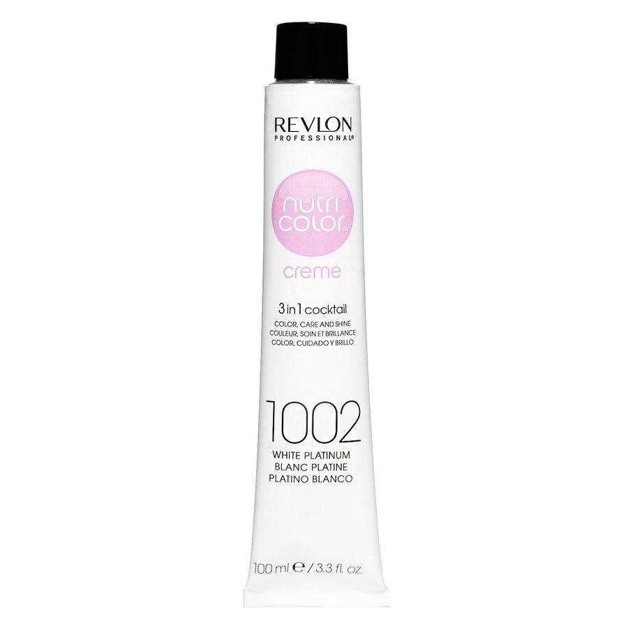 Revlon Professional Nutri Color Creme #1002 White Platinum 100ml