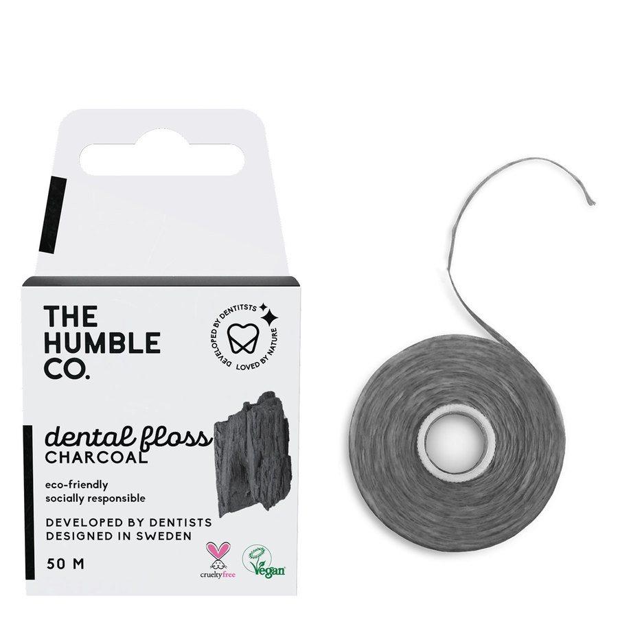 The Humble Co Dental Floss Charcoal 50m