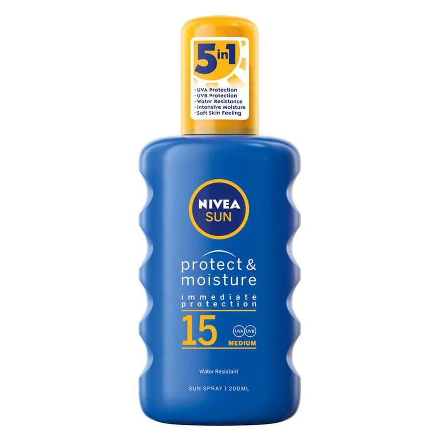 Nivea Sun Protect & Moisture Spray SPF15 200ml
