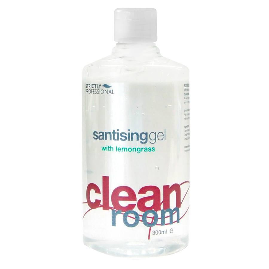 Strictly Professional Sanitising Gel Lemongrass 300ml