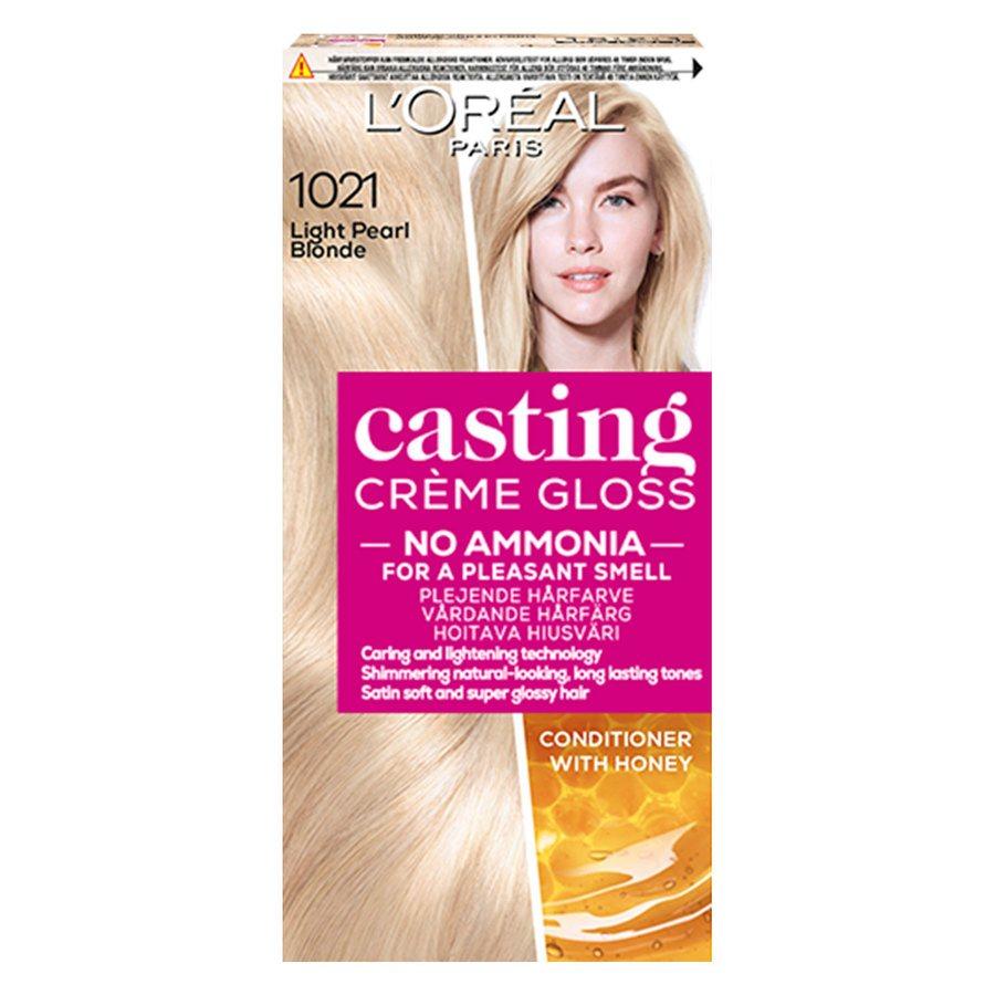 L'Oréal Paris Casting Creme Gloss 1021 Light Pearl Blonde