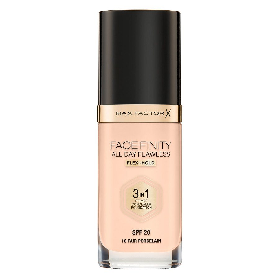 Max Factor Facefinity All Day Flawless 3-In-1 Foundation #10 Fair 30ml