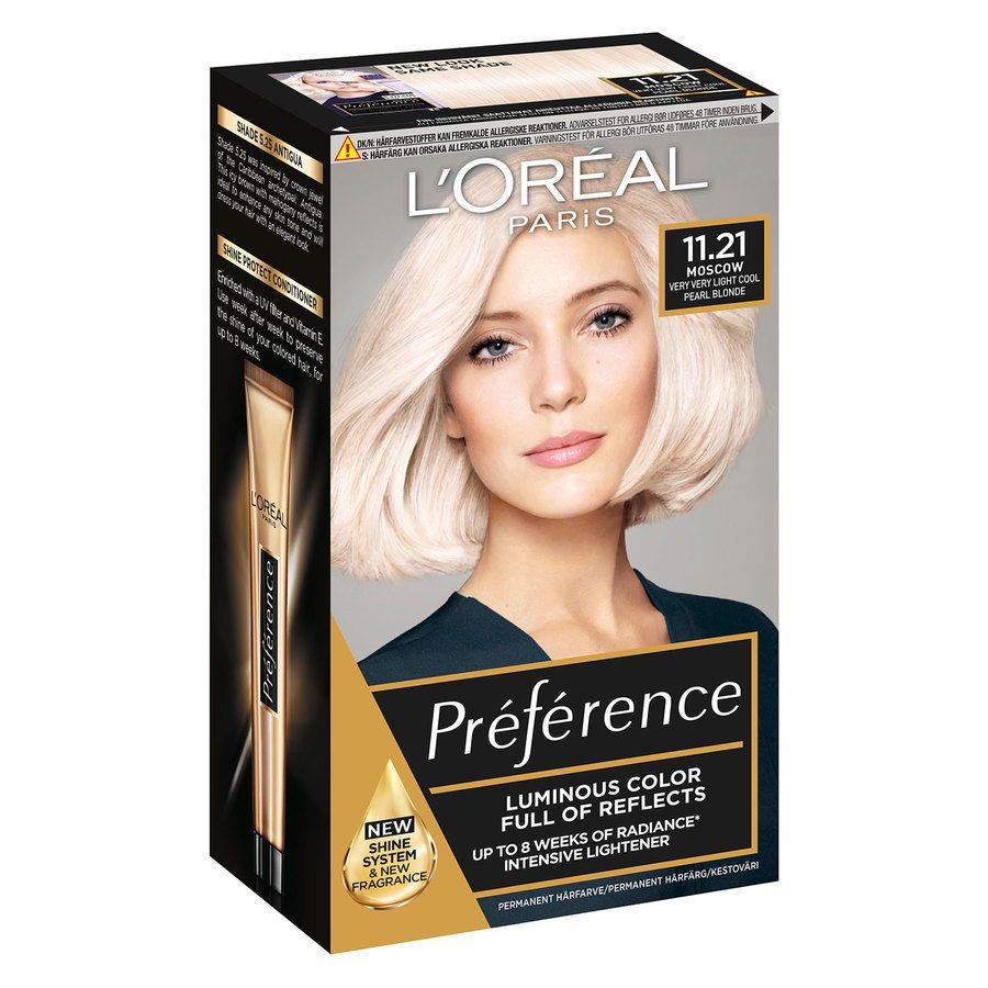 L'Oréal Paris Préférence Core Récital 11.21