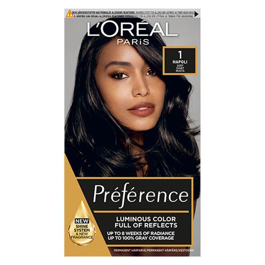 L'Oréal Paris Préférence Core Récital 1 Sort Napoli