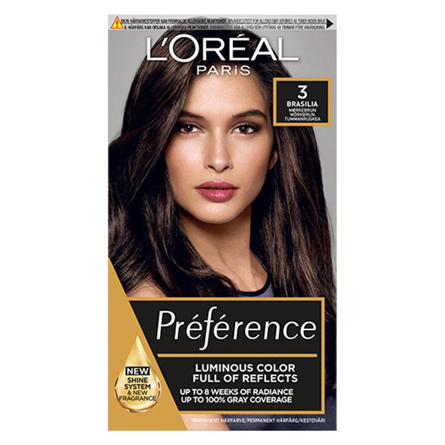 L'Oréal Paris Préférence Core Récital 3 Brasil Dark/Brown