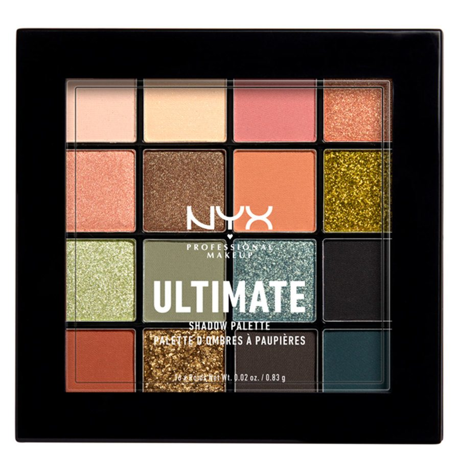 NYX Professional Makeup Ultimate Shadow Palette 12W Ultimate Utopia 16x0,83g