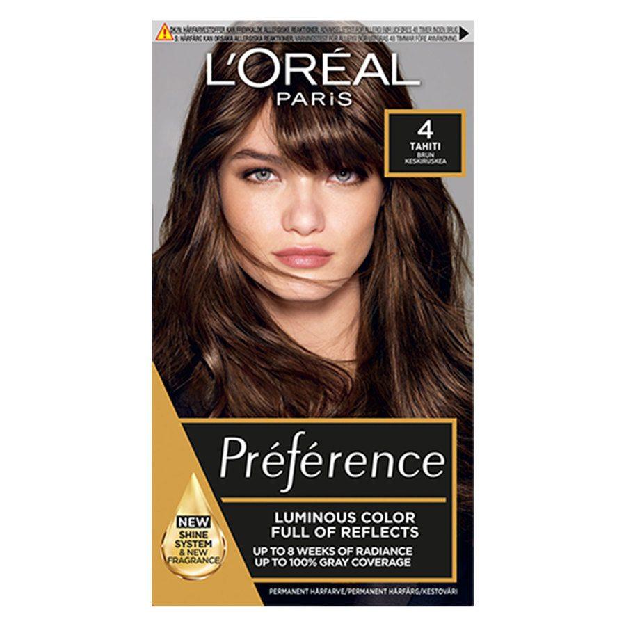 L'Oréal Paris Préférence Core Récital 4 Tahiti Natural Brown