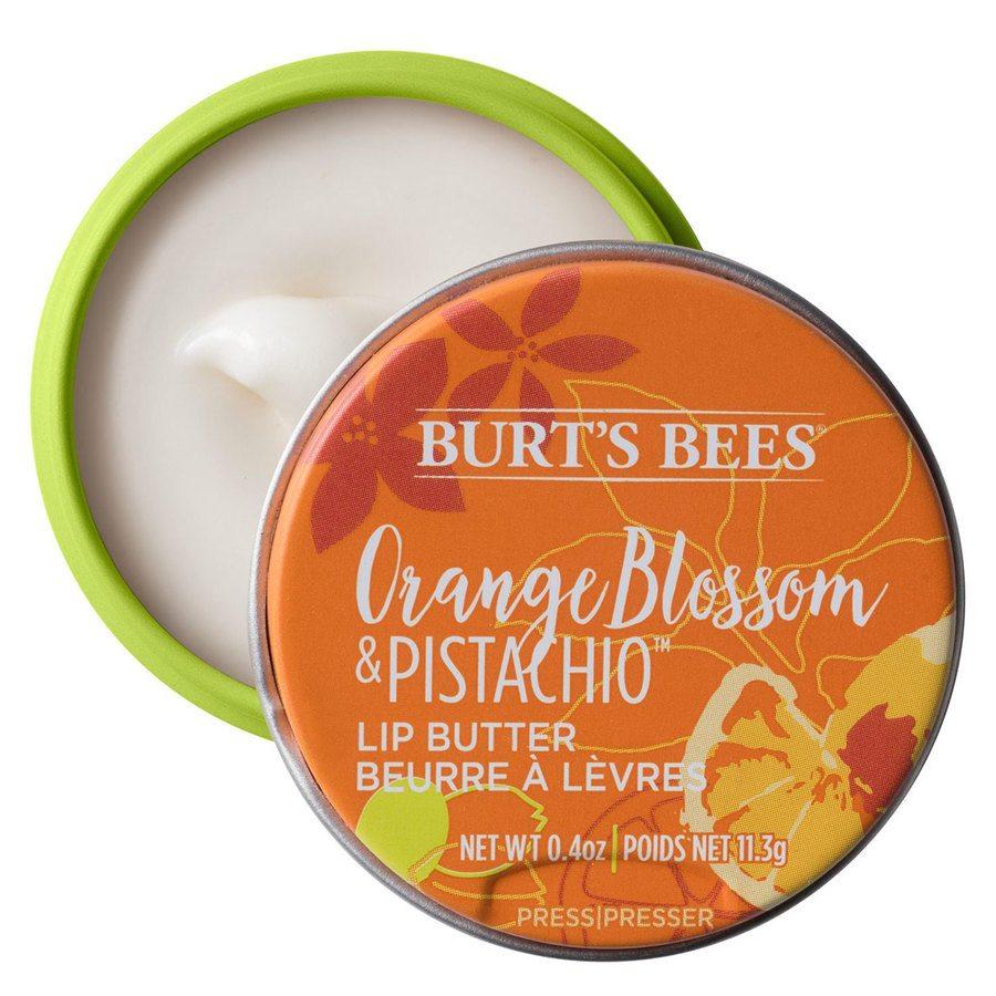 Burt's Bees® 100% Natural Origin Moisturising Lip Butter Orange Blossom & Pistachio 11,3g