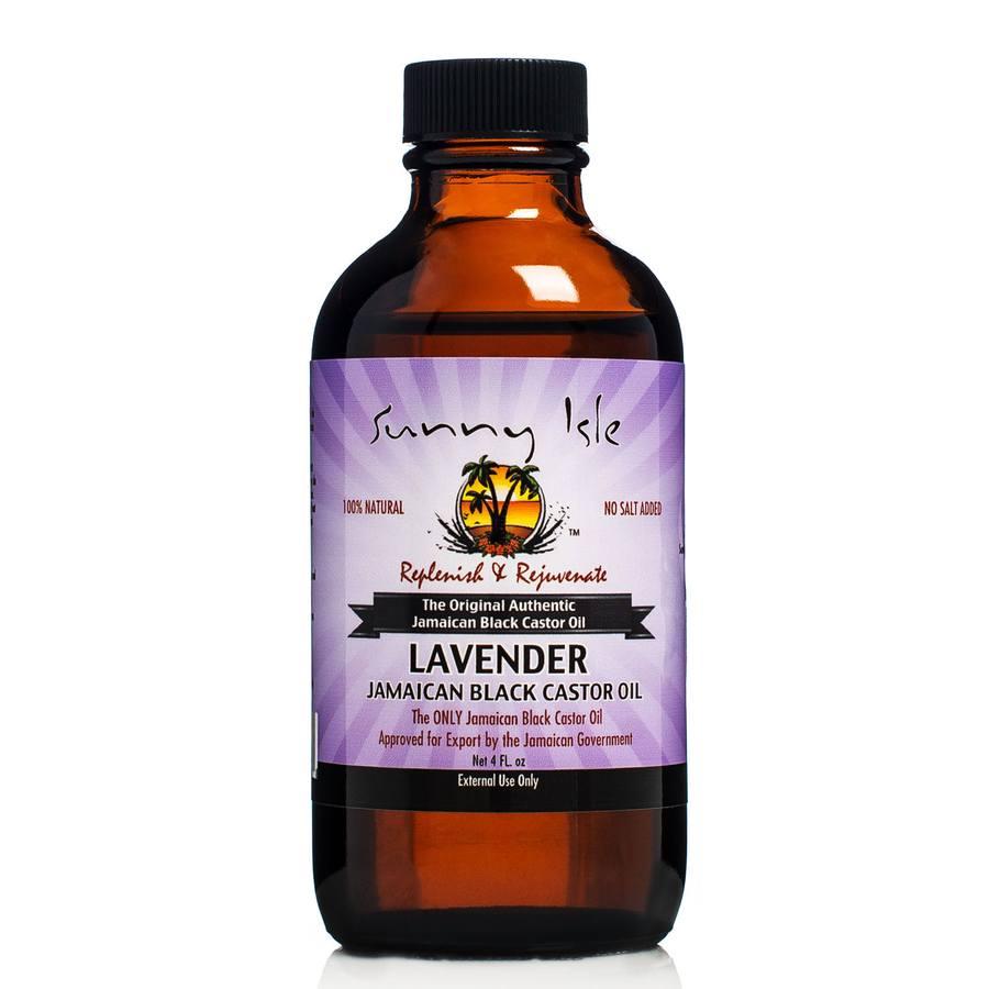 Sunny Isle Jamaican  Castor Oil Lavender Jamaican Black 118ml