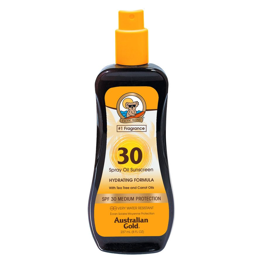 Australian Gold SPF 30 Carrot Intensifier Oil Spray 237ml
