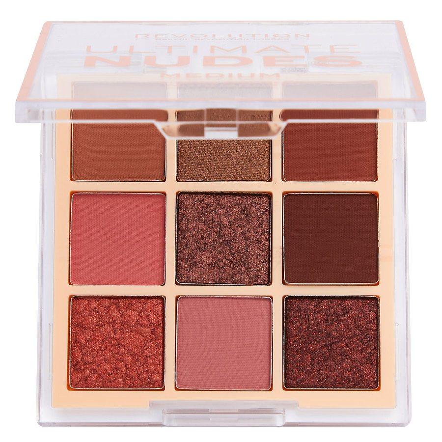 Revolution Beauty Makeup Revolution Ultimate Nudes Shadow Palette Medium 6,8g