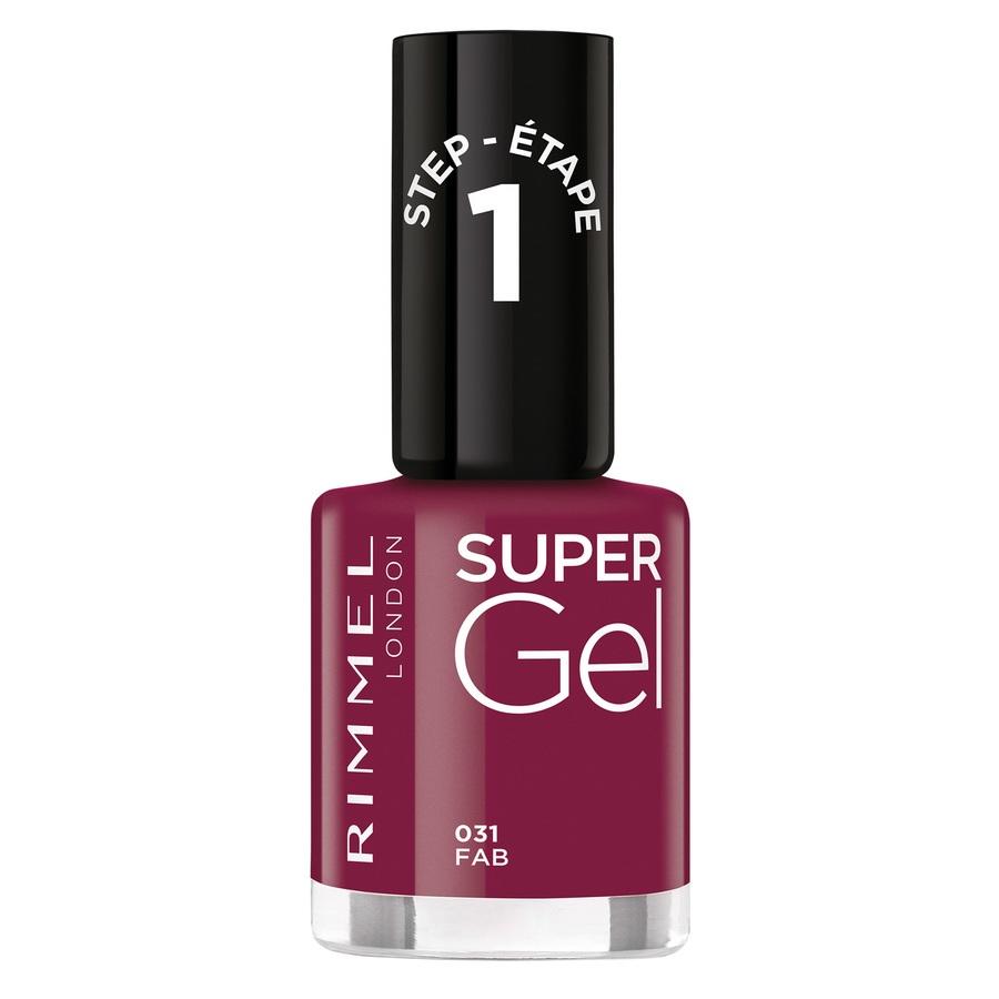 Rimmel London Super Gel Nail Polish 031 Fab 12ml