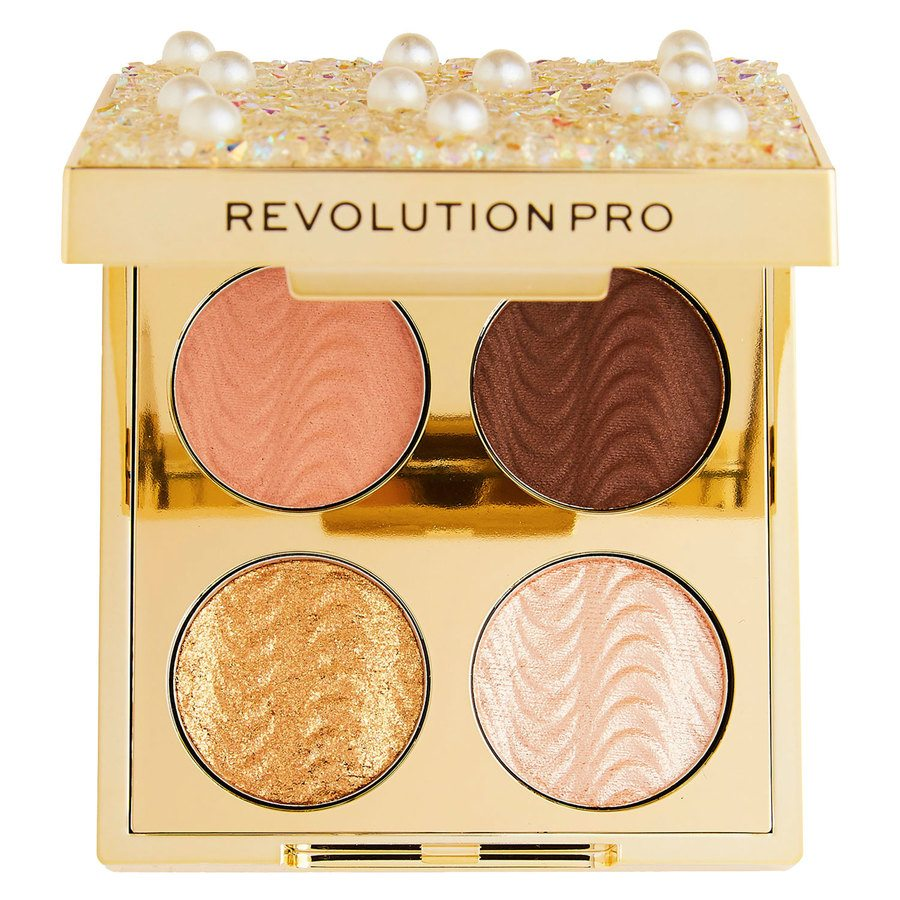 Makeup Revolution Pro Ultimate EyeLook Diamonds and Pearls Palette 4x0,8g