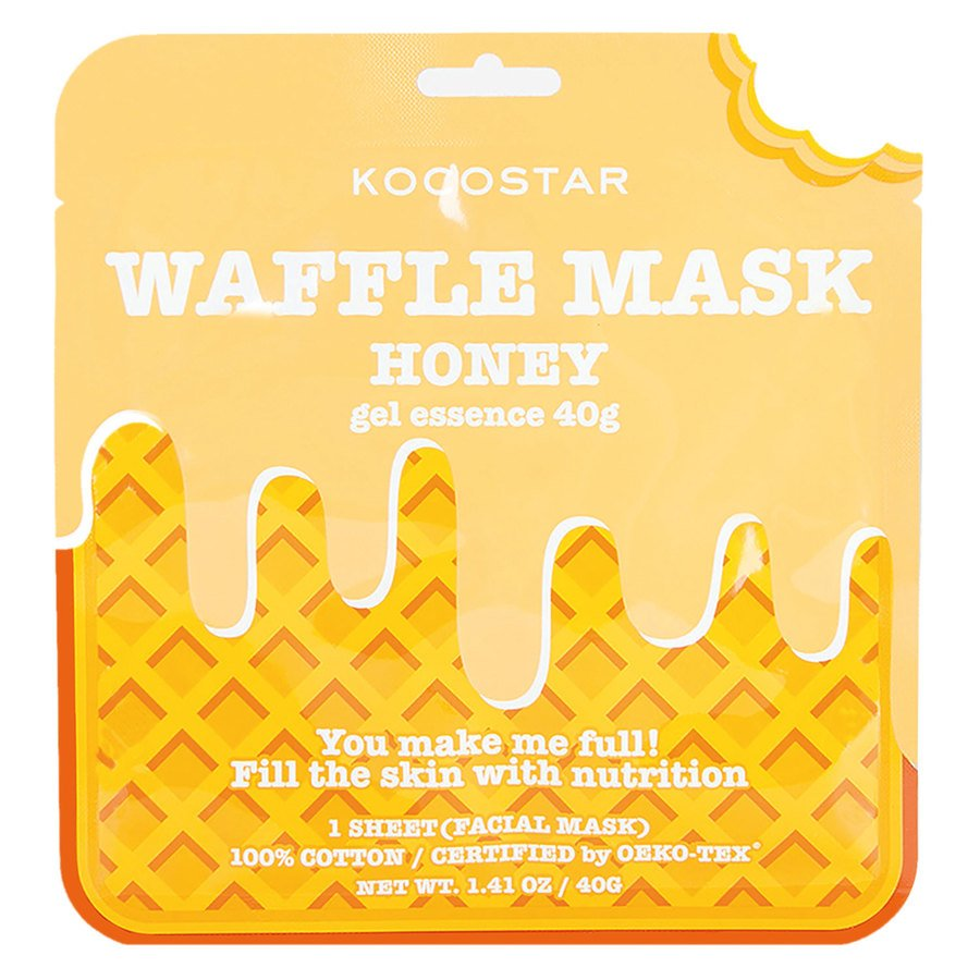 Kocostar Waffle Mask Honey 40g