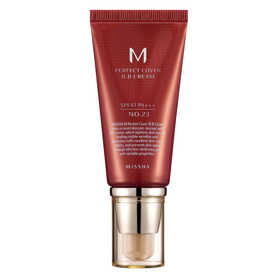 Missha M Perfect Cover Bb Cream Spf42/Pa+++ (No.23/Natural Beige) 50ml