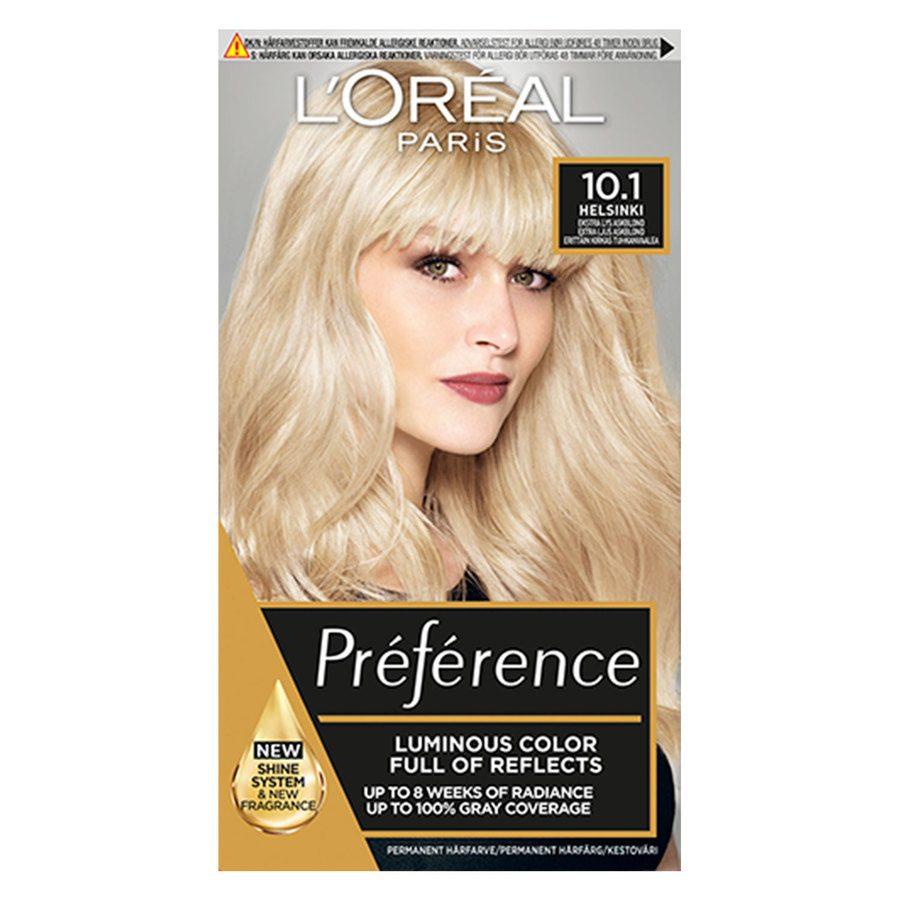 L'Oréal Paris Préférence Core Récital 10,1 Helsinki Extra Light Ash Blonde
