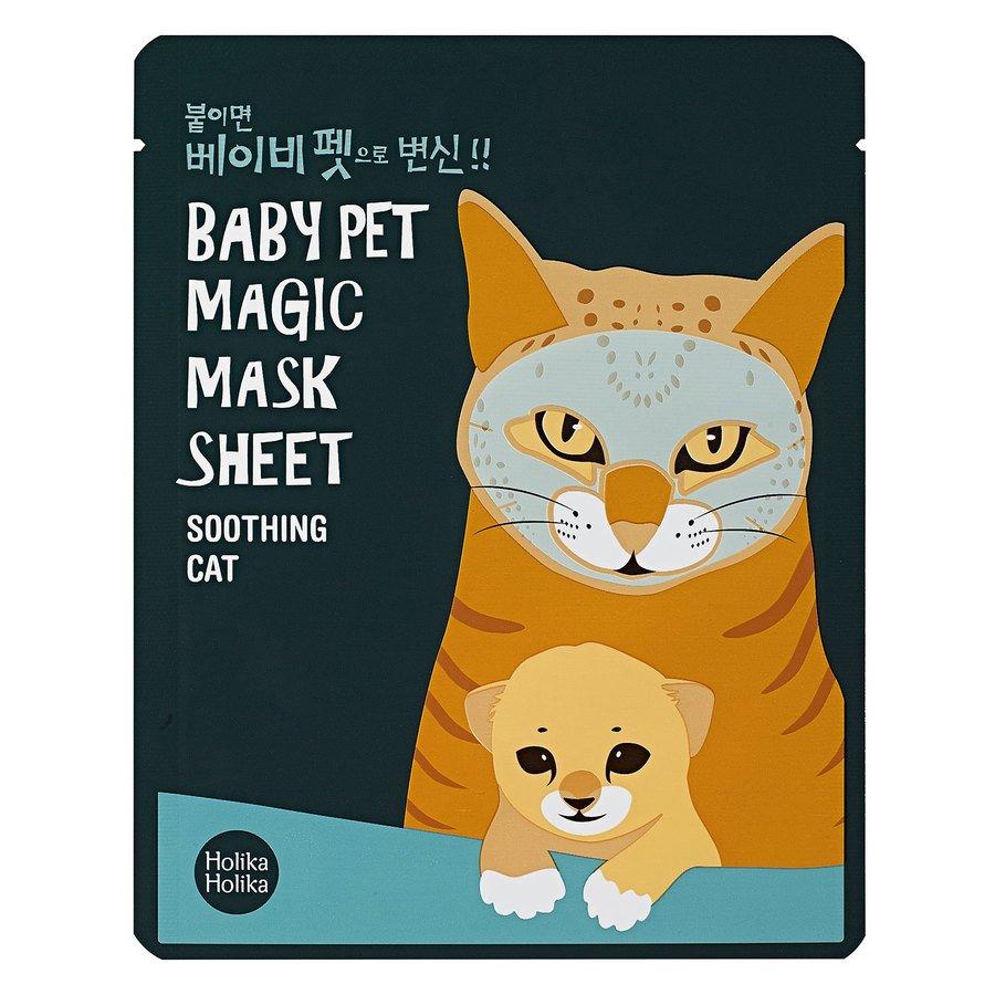 Holika Holika Baby Pet Magic Mask Sheet Soothing Cat 22ml