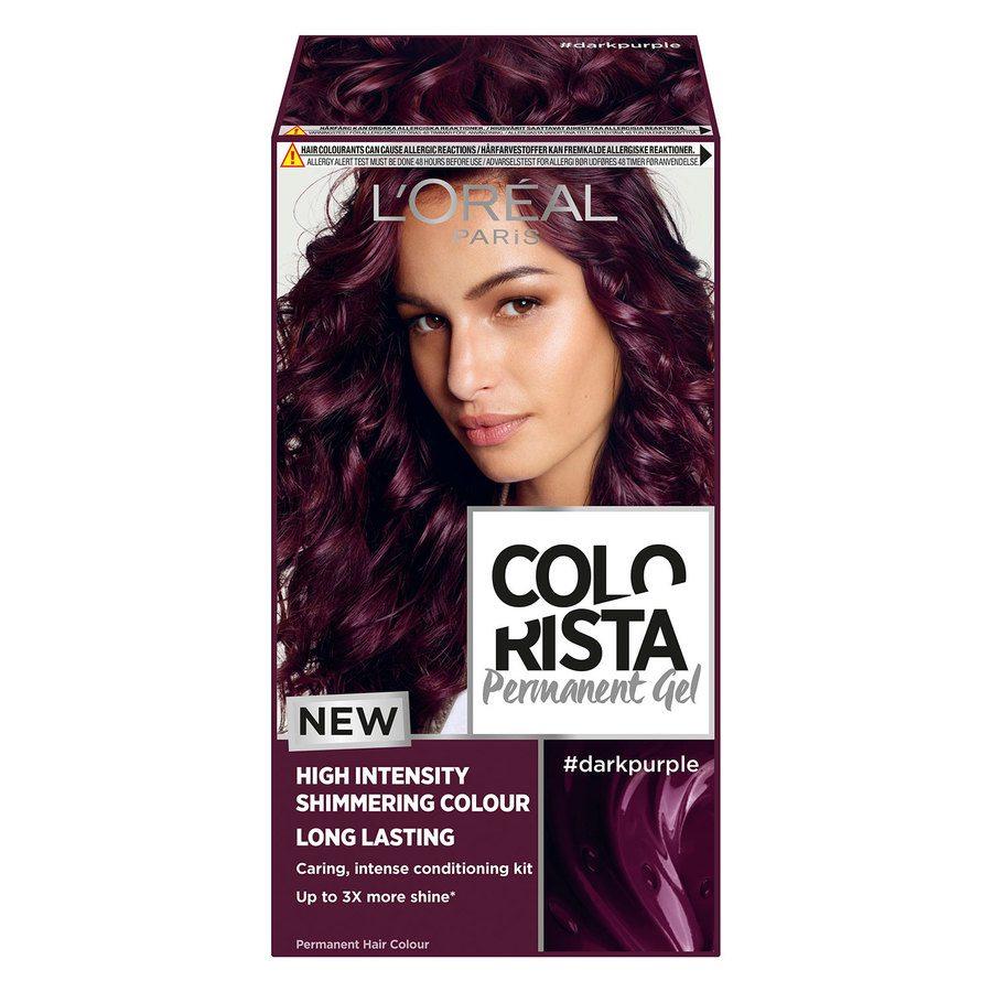 L'Oréal Paris Colorista Permanent Gel Dark Purple