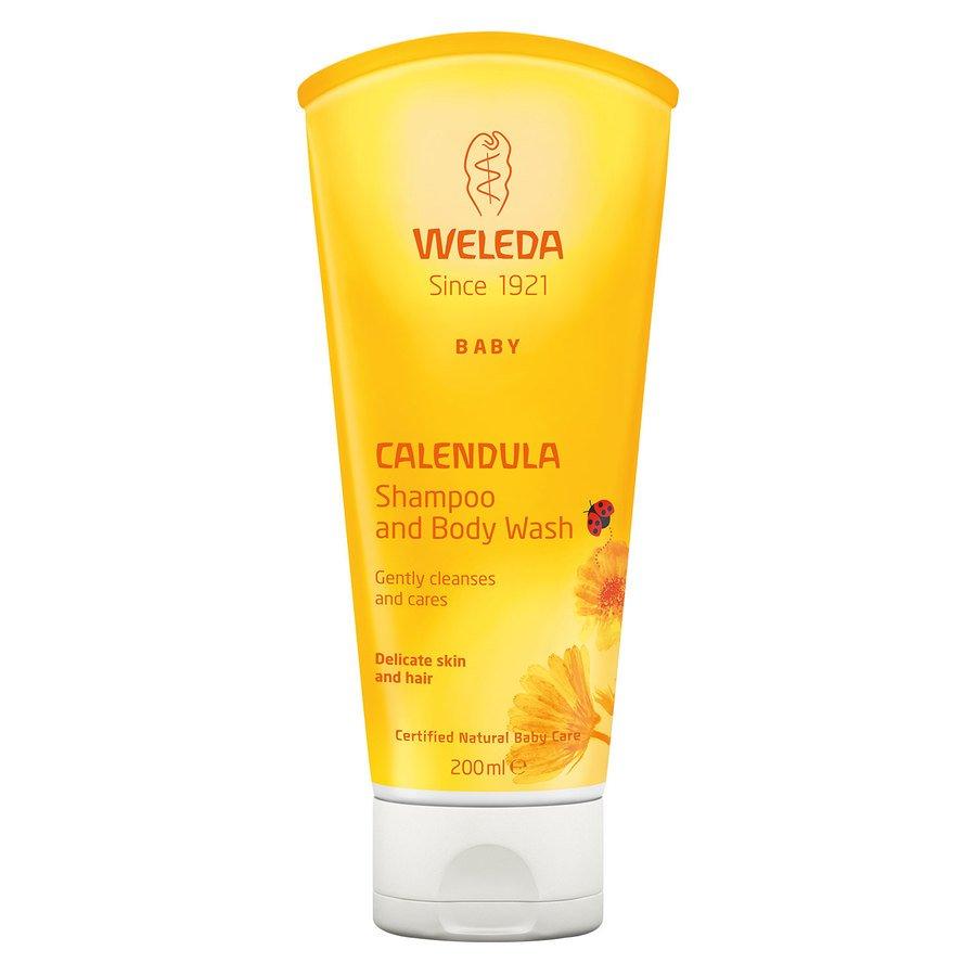 Weleda Baby Calendula Shampoo & Bodywash 200ml