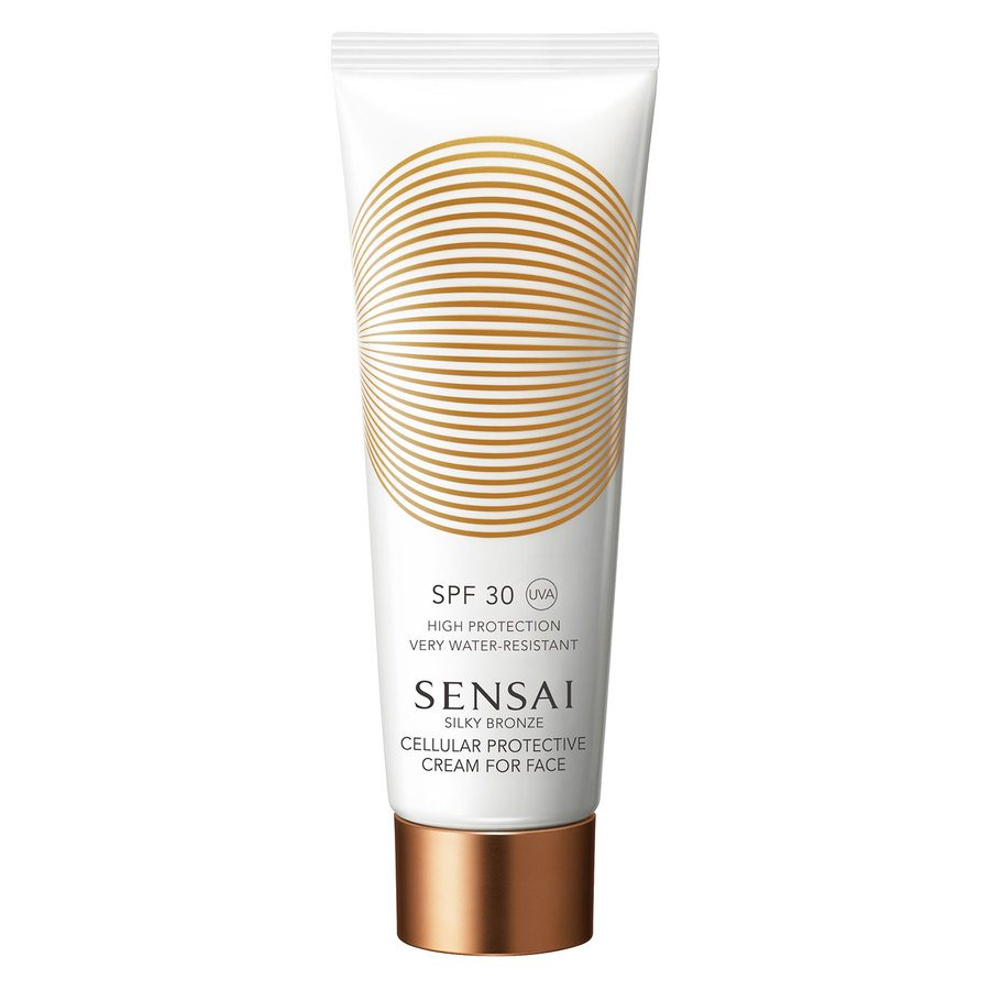 Sensai Silky Bronze Cellular Protective Cream For Face SPF30 50ml