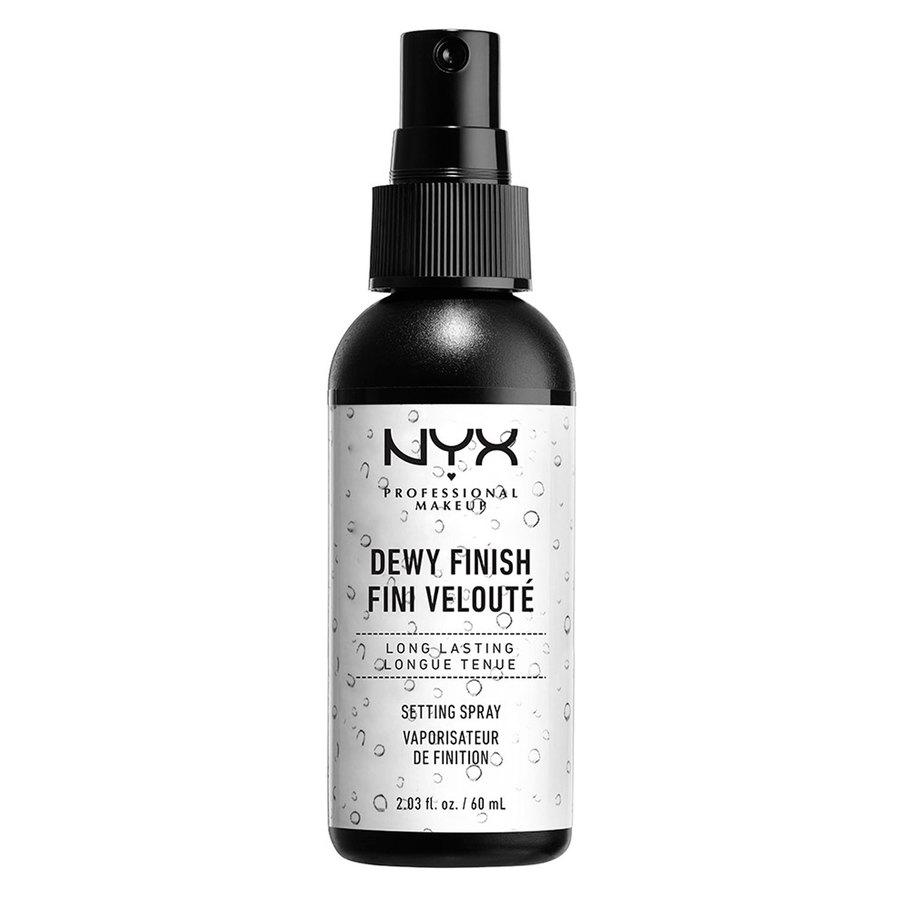 NYX Professional Makeup Dewy Finish Long Lasting Make-Up Setting Spray Dewy Finish 60ml