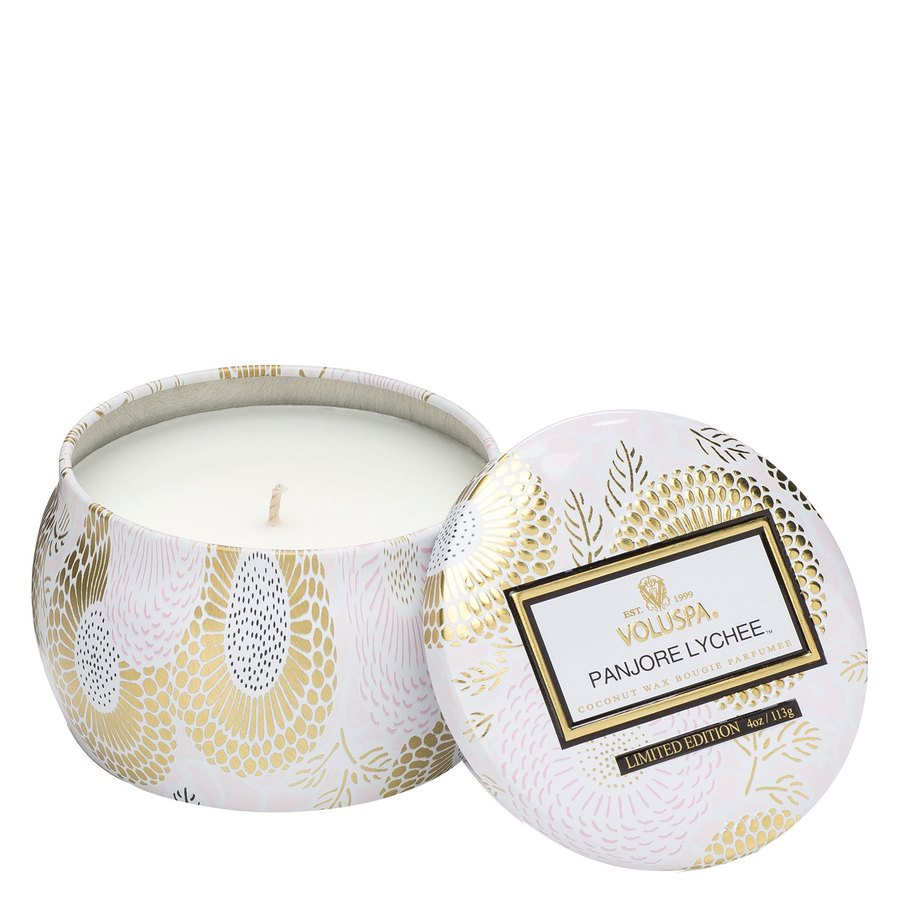 Voluspa Decorative Tin Candle Panjore Lychee 113g