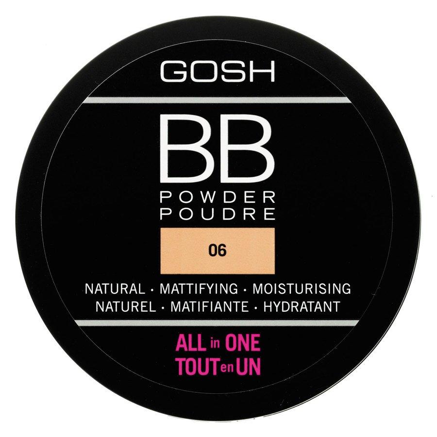 GOSH BB Powder #006 Warm Beige 6,5g