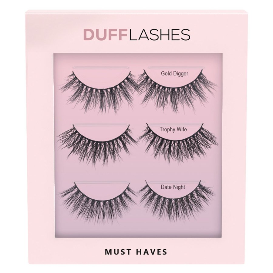 DUFFBeauty Must Haves 3pcs