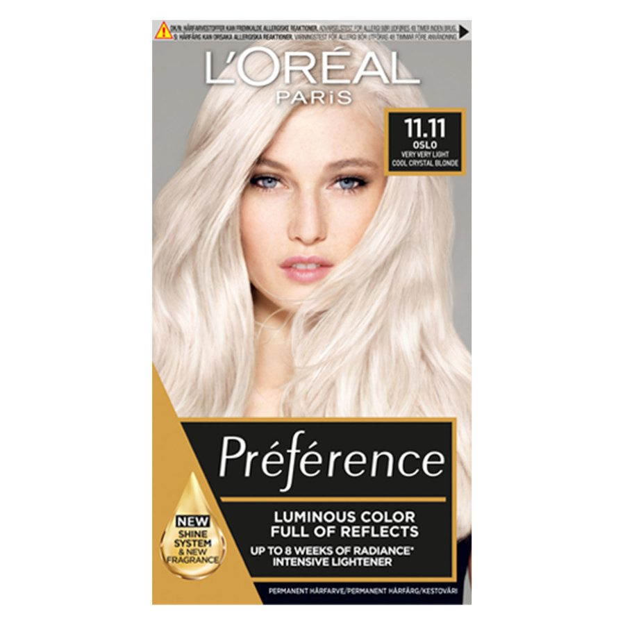 L'Oréal Paris Préférence Core Récital 11,11 Ultra Light Extra Light Cool Silver Blonde