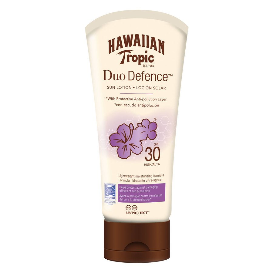Hawaiian DuoDefence Sun Lotion SPF30 180ml