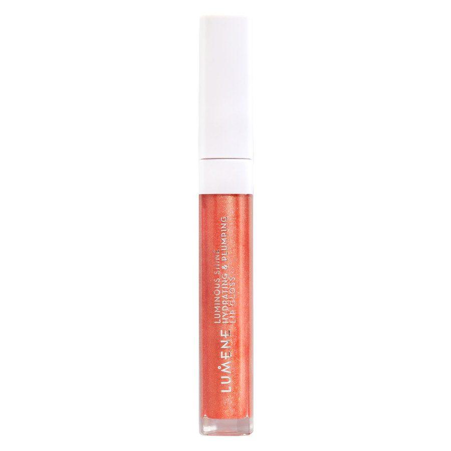 Lumene Luminous Shine Hydrating & Plumping Lip Gloss 3 Fresh Peach 5 ml